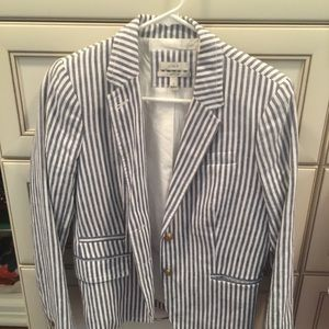 Jcrew striped blazer-schoolboy